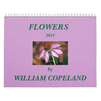 2015 Blumen-Kalender Kalender