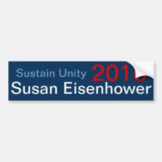 2016 wählen Sie Susan Eisenhower Autoaufkleber