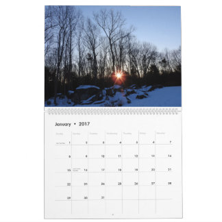 2017 Kalender - New Hampshire-Natur durch Traci