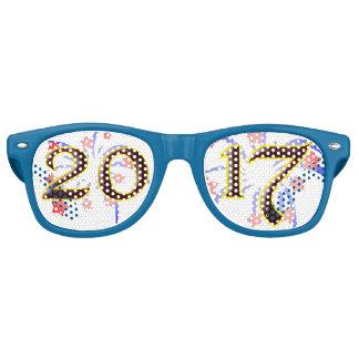 2017 Silvester-Party-einzigartige Retro Retro Sonnenbrillen