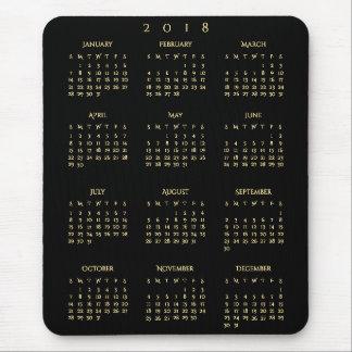2018 jährliches mousepad