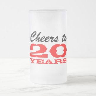 20. Jahrestags-Party der Matte Glastasse