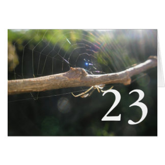 23. Geburtstag Karte