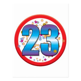 23. Geburtstag v2 Postkarte