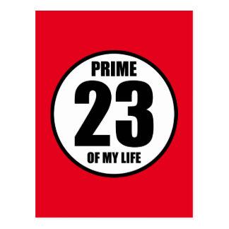 23 - höchste Vollkommenheit meines Lebens Postkarte