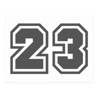 23 POSTKARTE
