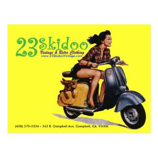 23 SkiPostcard Postkarte