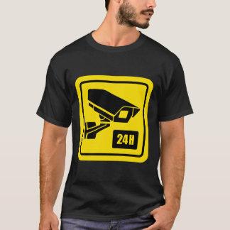 24 Stunden-Videokamera-Zeichen-T-Shirts T-Shirt