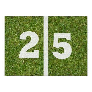 25. Geburtstags-Party! 12,7 X 17,8 Cm Einladungskarte