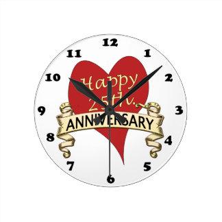 25. Jahrestag Uhr