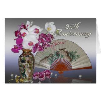 25. Leben Jahrestags-Party Einladung Asiaten noch