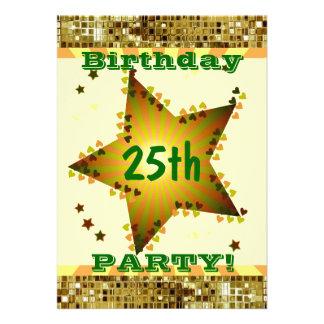 25. Oder irgendeine Alters-Geburtstags-Party
