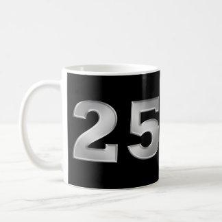 25. Silberne Jahrestags-Tasse Tasse