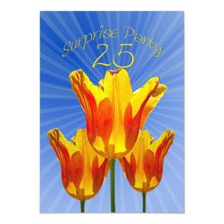 25. Überraschungs-Geburtstags-Party Einladung