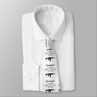 2. Änderungs-Krawatte Personalisierte Krawatte