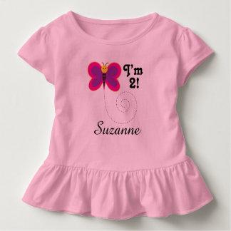 2. Geburtstag bin ich 2 der Kleinkind T-shirt