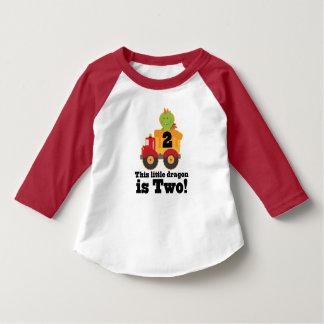 2. Geburtstags-Drache-Kipper 2-jährig-T-Shirt T-Shirt