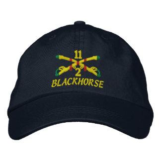2. Geschwader-11. Kavallerie gestickter Hut Bestickte Caps