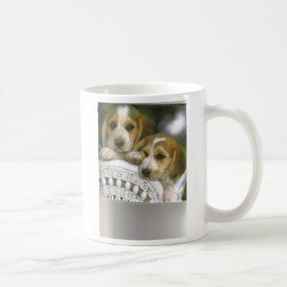 2 Hunde auf einem Stuhl Tasse