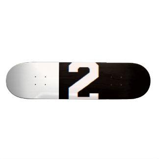 2TIMED: Sonderausgabe-Skateboard Skateboarddecks