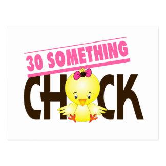 30-Etwas Küken 1 Postkarte