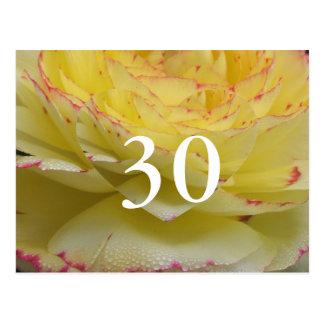 30. Geburtstag Postkarte