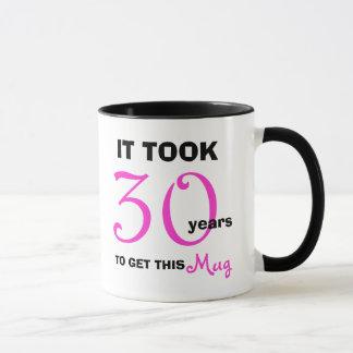 30. Geburtstags-Geschenk-Ideen-Tasse für Frauen Tasse