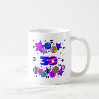 30. Geburtstagst-shirts Tasse