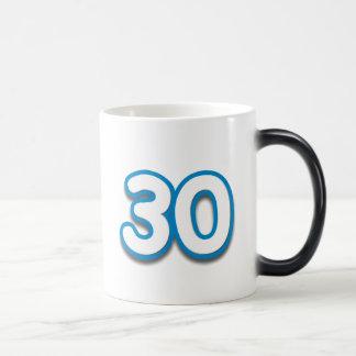 30 Jahr-Geburtstag oder Jahrestag Sim Verwandlungstasse