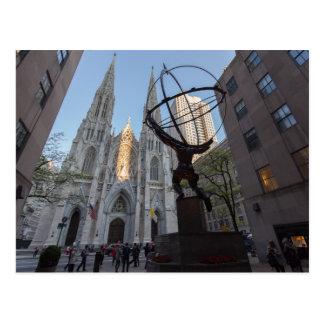 30 Rockefeller-Piazza in NYC Postkarte