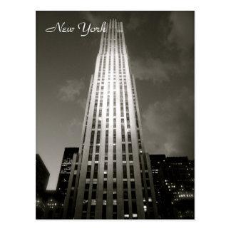 30 Rockefeller-Piazza Postkarte