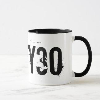 30. Tasse des Geburtstags-schmutzige dreißig