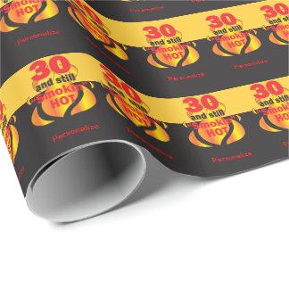 30 und noch Smokin heißer | 30. Geburtstag Geschenkpapierrolle