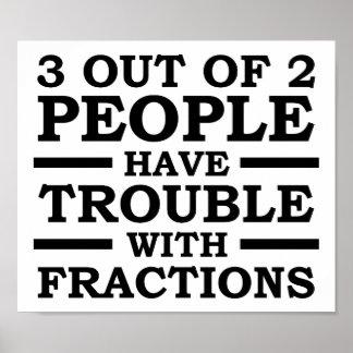 3 aus dem 2 Leute-lustigen Plakat heraus
