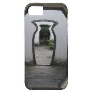 3 Glas-geformte Tür-optische Täuschung Tough iPhone 5 Hülle