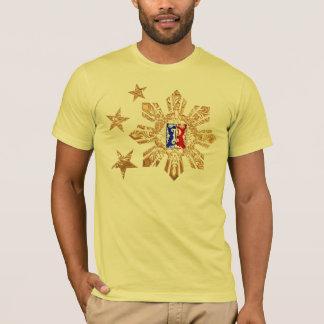 3 Sterne und ein Sun-Shirt T-Shirt
