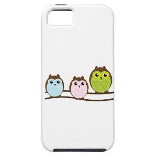 3 süße Eulen iPhone 5 Etuis