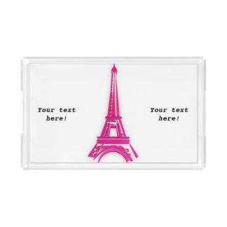 3d Eiffelturm, Frankreich clipart Acryl Tablett