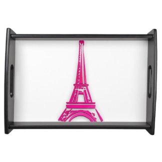3d Eiffelturm, Frankreich clipart Tablett
