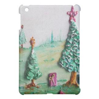 3D GLITTER L@@K der Weihnachtsbäume und der iPad Mini Hülle
