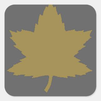 3rd_canadien_infantry_division.png quadratischer aufkleber
