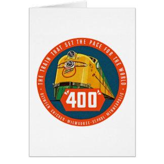 """~ 400 """"der dieser Zug Sets der Schritt """" Karte"""