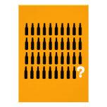 40. Geburtstags-Einladungen - Bier-Beifall!