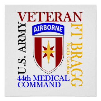 44. MEDCOM - Fort Bragg Poster
