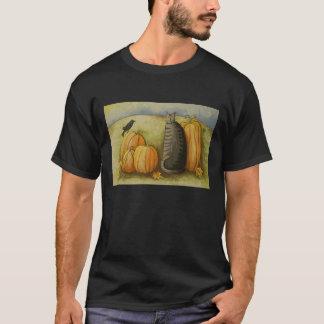4874 Ernte-Ernte-Katze T-Shirt