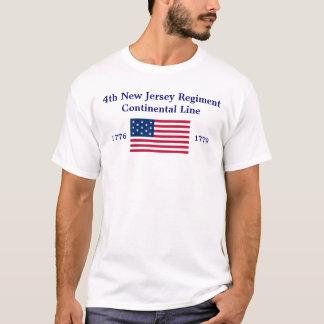 4. New-Jersey Regiment T-Shirt