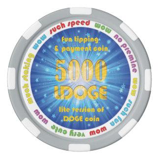 5000 LDOGE Poker-Chip Poker Chips