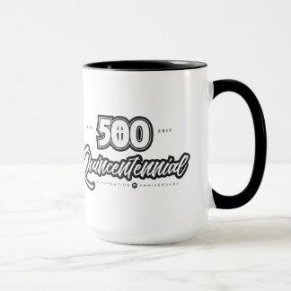 500th Jahrestag 15 Unze-Wecker-Tasse Tasse