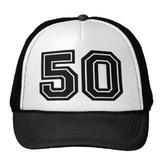 50. Geburtstags-Klassiker Retromütze