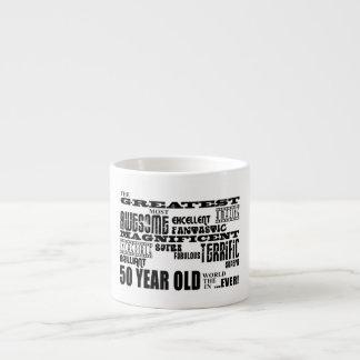 50. Geburtstags-Party-bestste fünfzig Jährige Espressotasse